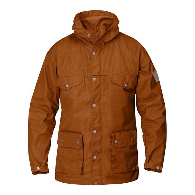 Men Fjallraven GREENLAND JACKET AUTUMN LEAF Outlet Online