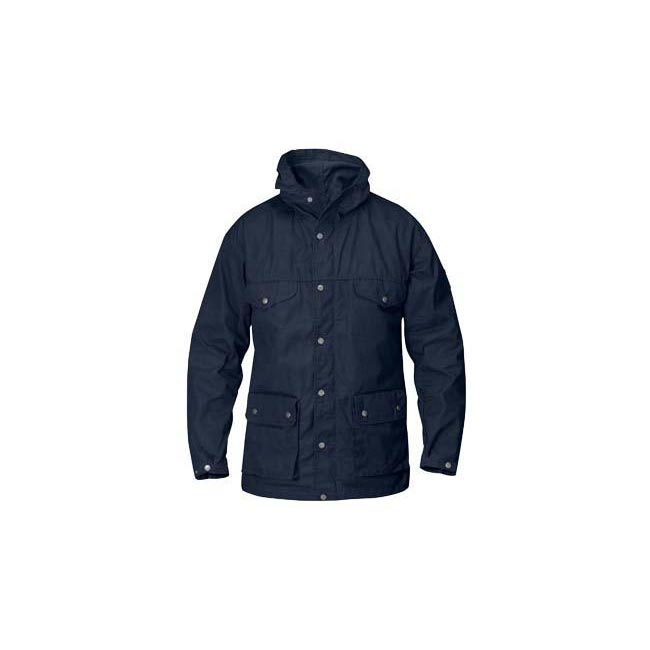 Men Fjallraven GREENLAND JACKET DARK NAVY Outlet Online