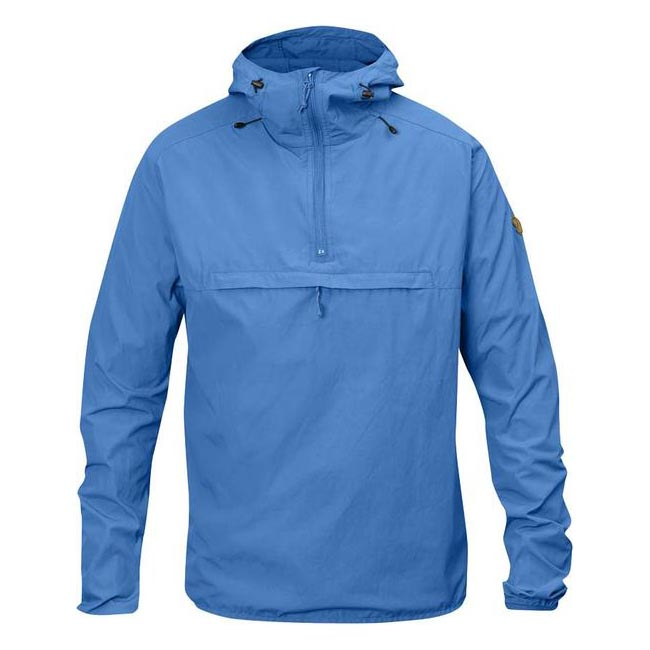 Men Fjallraven HIGH COAST WIND ANORAK MEN\'S JACKET UN BLUE Outlet Online