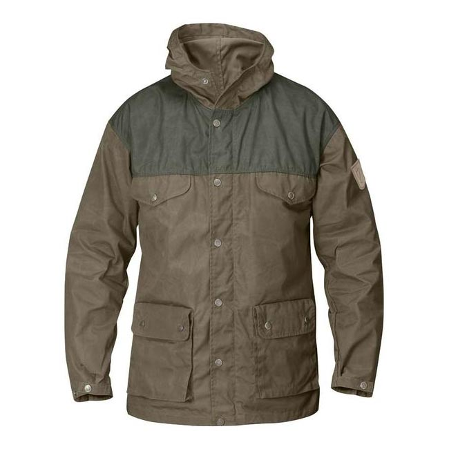 Men Fjallraven GREENLAND JACKET TAUPE Outlet Online
