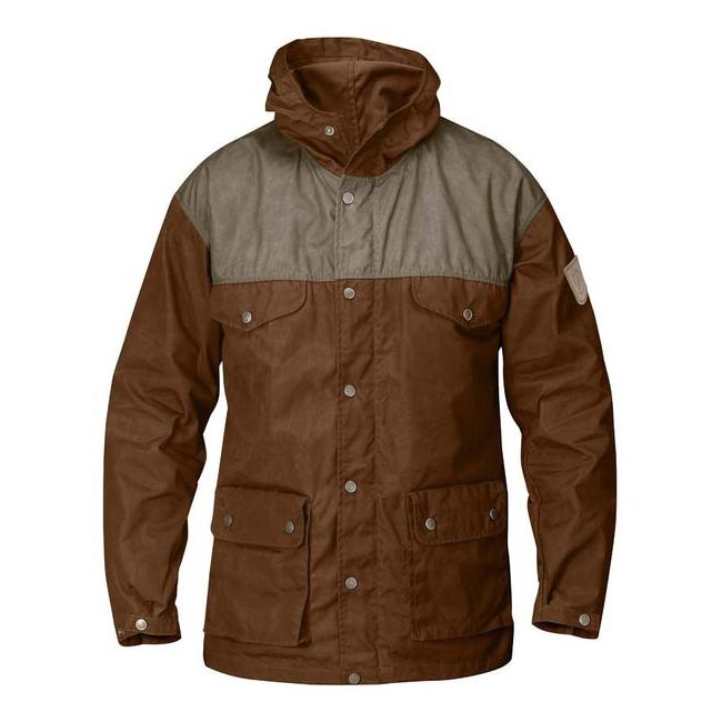 Men Fjallraven GREENLAND JACKET CHESTNUT Outlet Online
