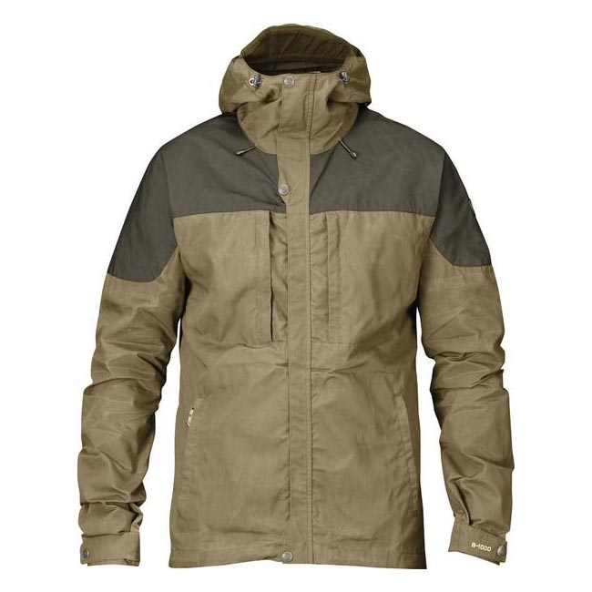 Men Fjallraven SKOGSÖ JACKET SAND Outlet Online