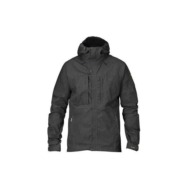 Men Fjallraven SKOGSÖ JACKET DARK GREY Outlet Online