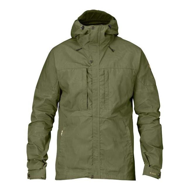 Men Fjallraven SKOGSÖ JACKET GREEN Outlet Online