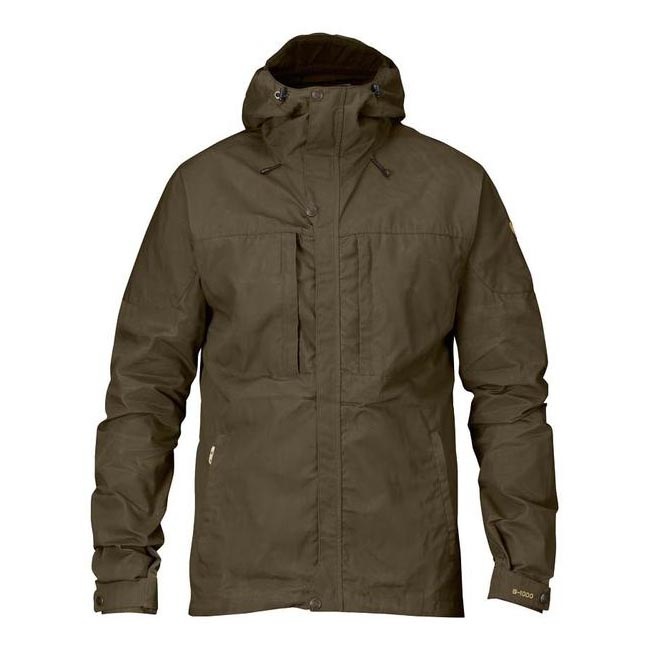 Men Fjallraven SKOGSÖ JACKET DARK OLIVE Outlet Online