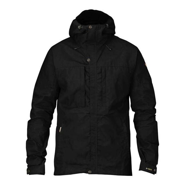 Men Fjallraven SKOGSÖ JACKET BLACK Outlet Online