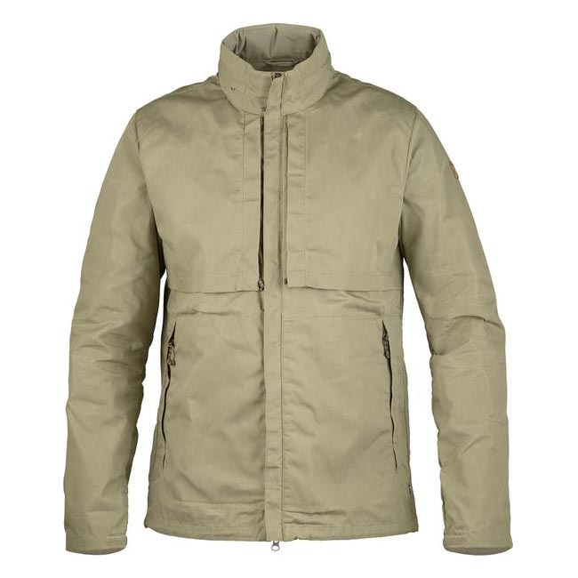 Men Fjallraven TRAVELLERS JACKET SAVANNA Outlet Online