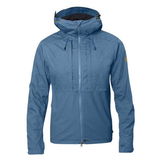 Men Fjallraven ABISKO LITE JACKET LAKE BLUE Outlet Online