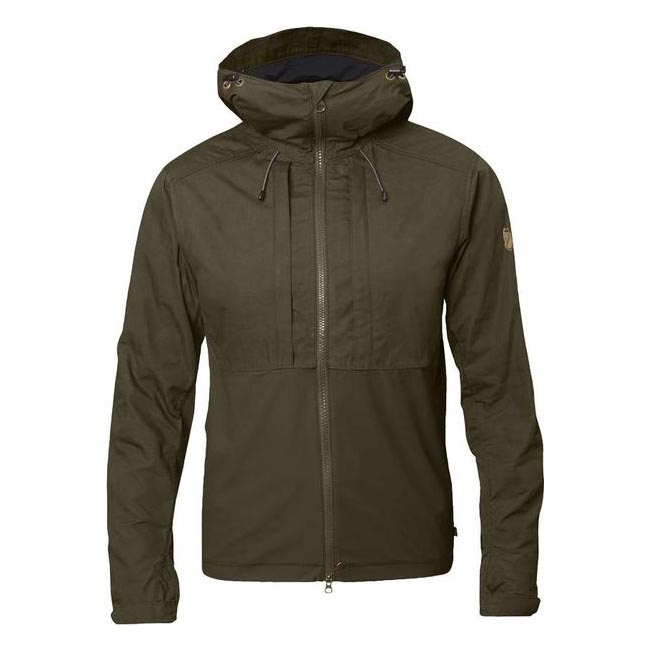 Men Fjallraven ABISKO LITE JACKET DARK OLIVE Outlet Online