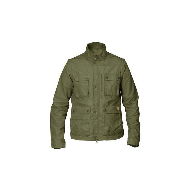 Men Fjallraven REPORTER LITE JACKET GREEN Outlet Online