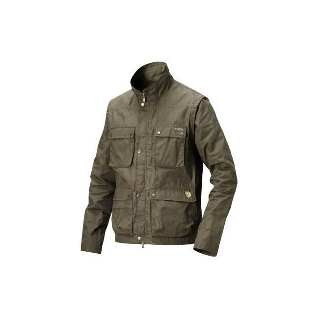 Men Fjallraven REPORTER LITE JACKET DARK OLIVE Outlet Online
