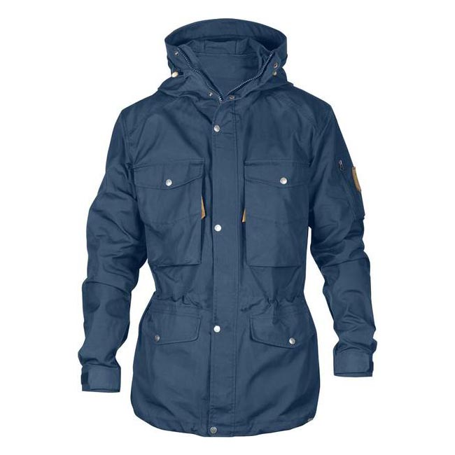 Men Fjallraven SINGI TREKKING JACKET UNCLE BLUE Outlet Online