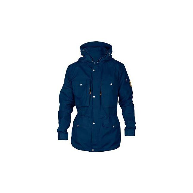 Men Fjallraven SINGI TREKKING JACKET INK BLUE Outlet Online