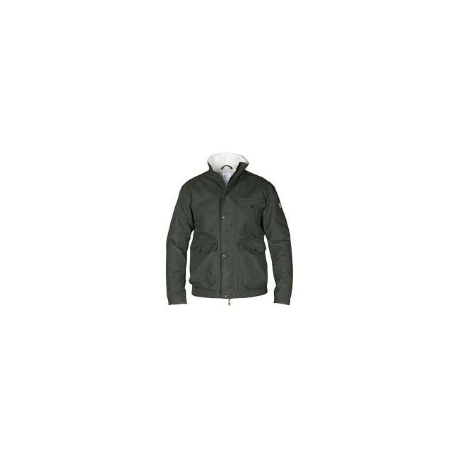 Men Fjallraven ÖVIK WINTER JACKET MOUNTAIN GREY Outlet Online