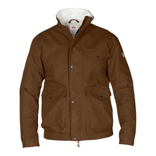 Men Fjallraven ÖVIK WINTER JACKET CHESTNUT Outlet Online