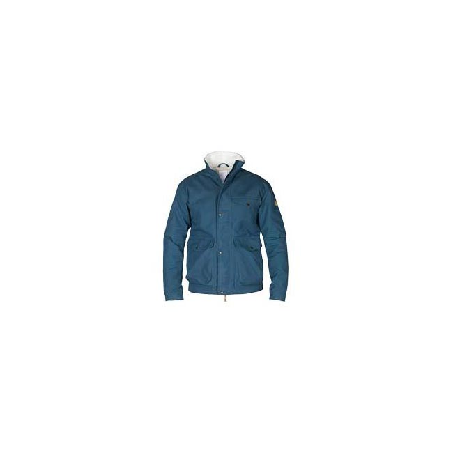Men Fjallraven ÖVIK WINTER JACKET UNCLE BLUE  Outlet Online