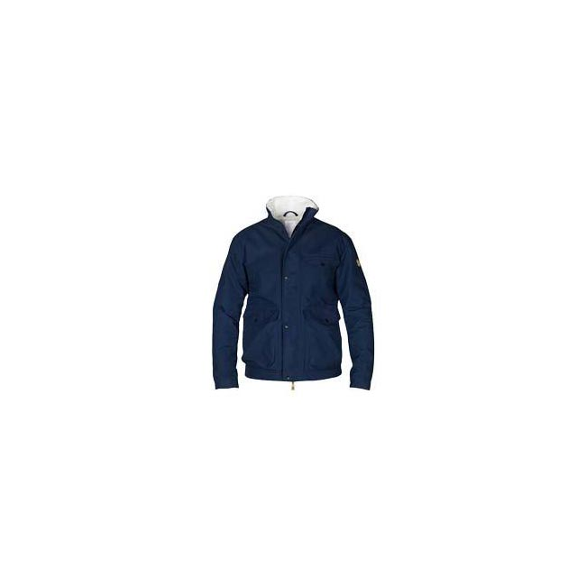 Men Fjallraven ÖVIK WINTER JACKET DARK NAVY Outlet Online