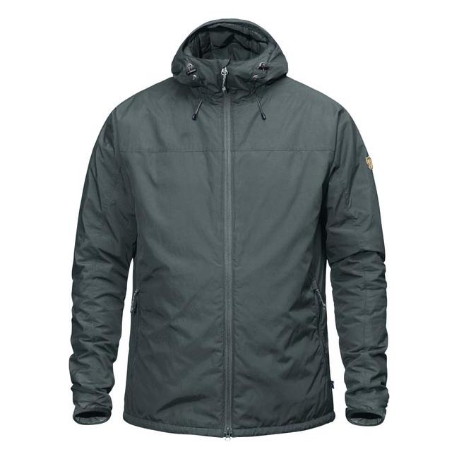 Men Fjallraven HIGH COAST PADDED JACKET ASH GREY Outlet Online