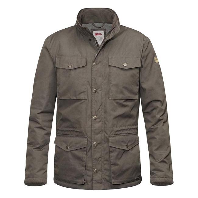 Men Fjallraven RÄVEN WINTER JACKET MOUNTAIN GREY Outlet Online