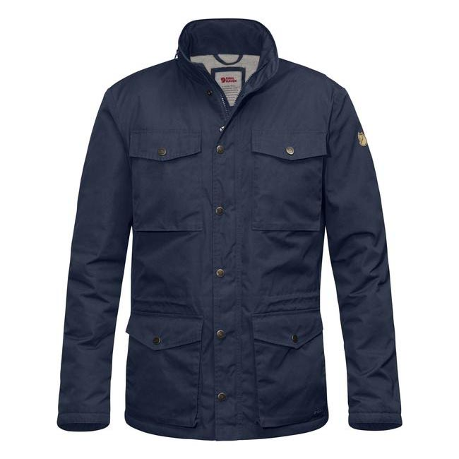 Men Fjallraven RÄVEN WINTER JACKET DARK NAVY Outlet Online