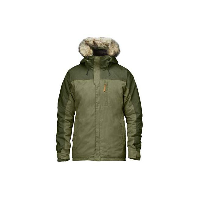 Men Fjallraven SINGI LINED JACKET GREEN Outlet Online