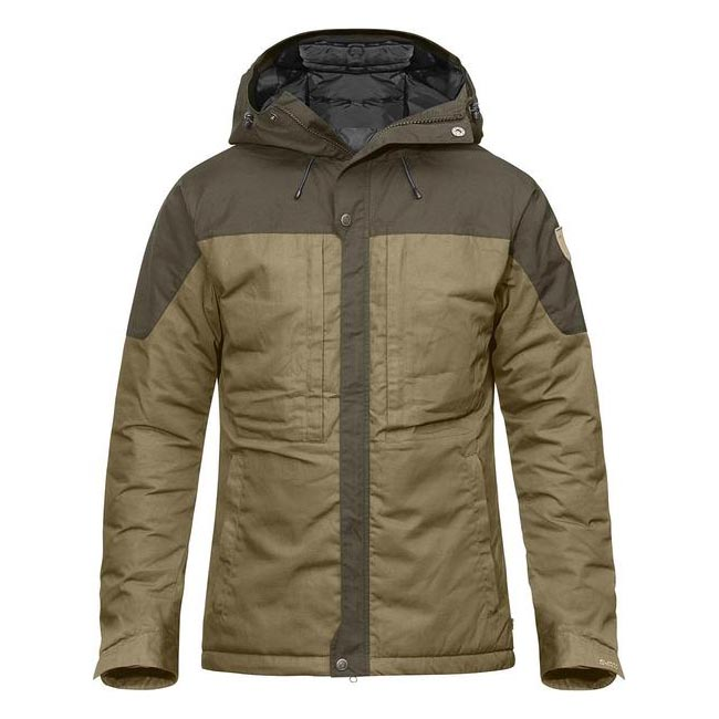 Men Fjallraven SKOGSÖ PADDED JACKET SAND Outlet Online