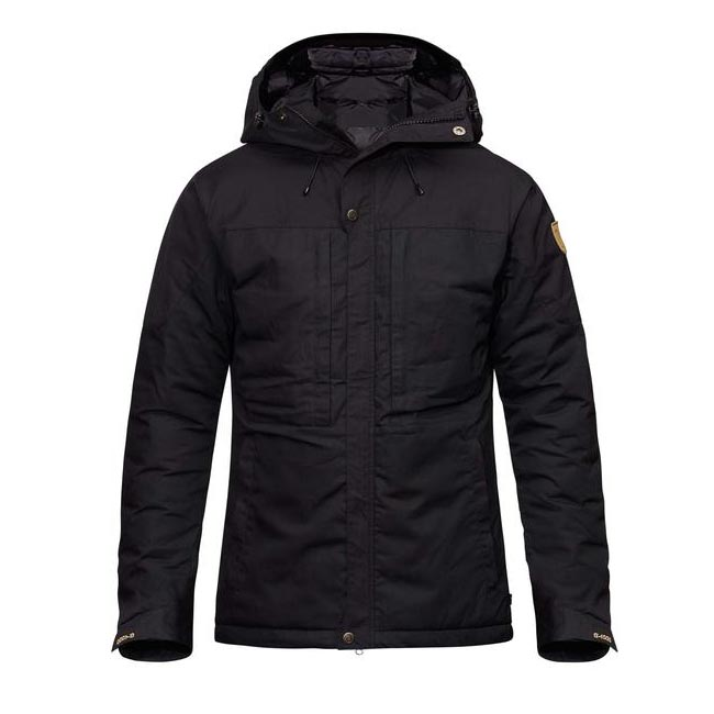 Men Fjallraven SKOGSÖ PADDED JACKET BLACK Outlet Online
