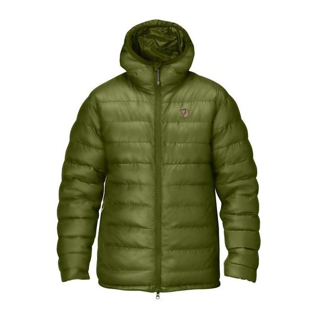 Men Fjallraven PAK DOWN JACKET AVOCADO Outlet Online