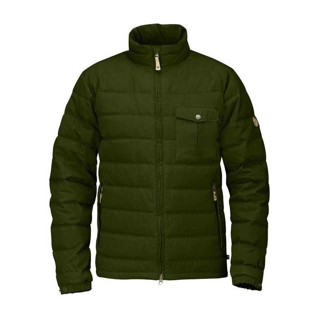 Men Fjallraven ÖVIK LITE JACKET NEW MOSS Outlet Online