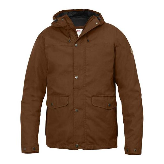 Men Fjallraven OVIK 3 IN 1 JACKET CHESTNUT Outlet Online