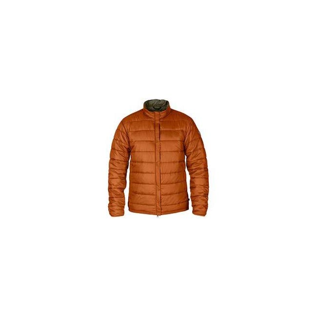 Men Fjallraven KEB PADDED JACKET AUTUMN LEAF Outlet Online