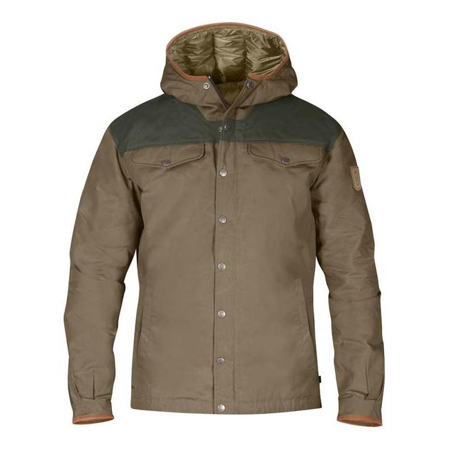 Men Fjallraven GREENLAND NO. 1 DOWN JACKET TAUPE Outlet Online