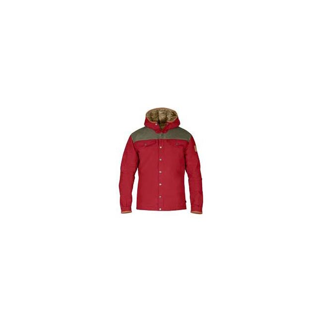 Men Fjallraven GREENLAND NO. 1 DOWN JACKET DEEP RED Outlet Online