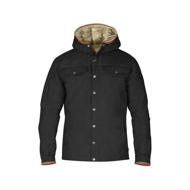 Men Fjallraven GREENLAND NO. 1 DOWN JACKET BLACK Outlet Online