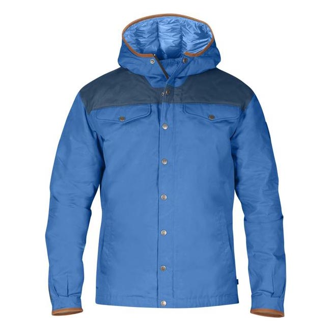 Men Fjallraven GREENLAND NO. 1 DOWN JACKET UN BLUE Outlet Online