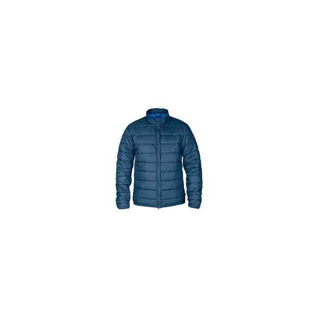 Men Fjallraven KEB PADDED JACKET UNCLE BLUE Outlet Online