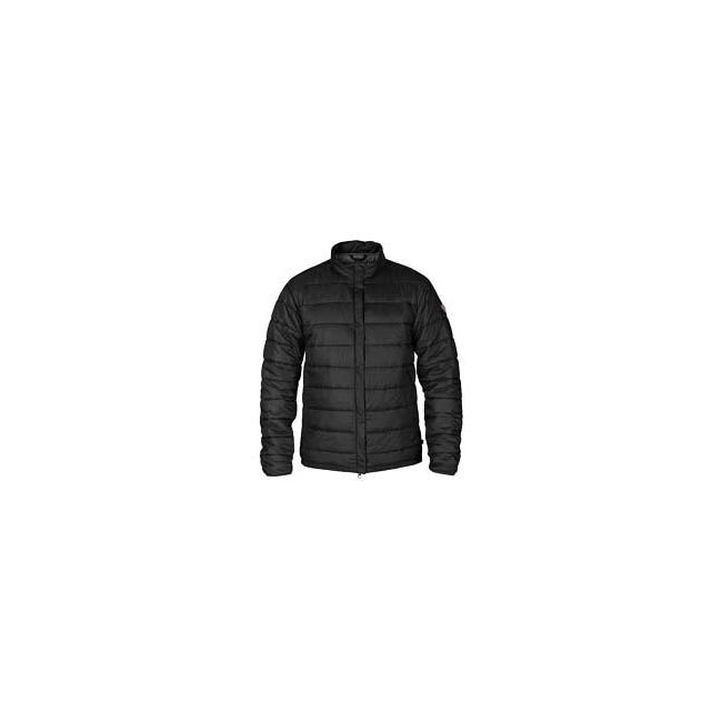Men Fjallraven KEB PADDED JACKET BLACK Outlet Online