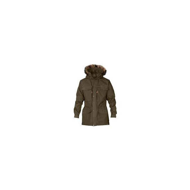 Men Fjallraven SINGI WINTER JACKET DARK OLIVE Outlet Online