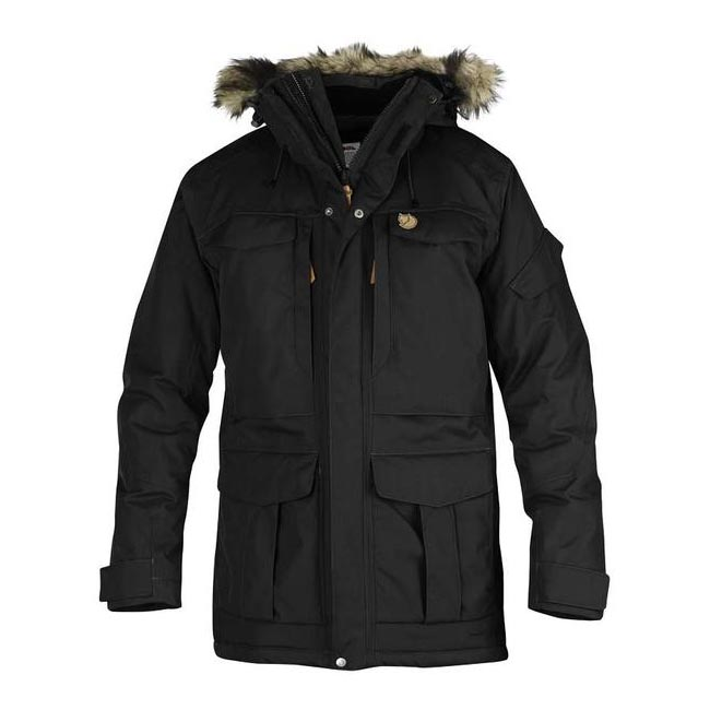 Men Fjallraven YUPIK PARKA BLACK Outlet Online