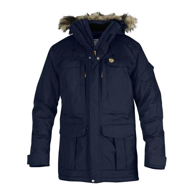 Men Fjallraven YUPIK PARKA DARK NAVY Outlet Online