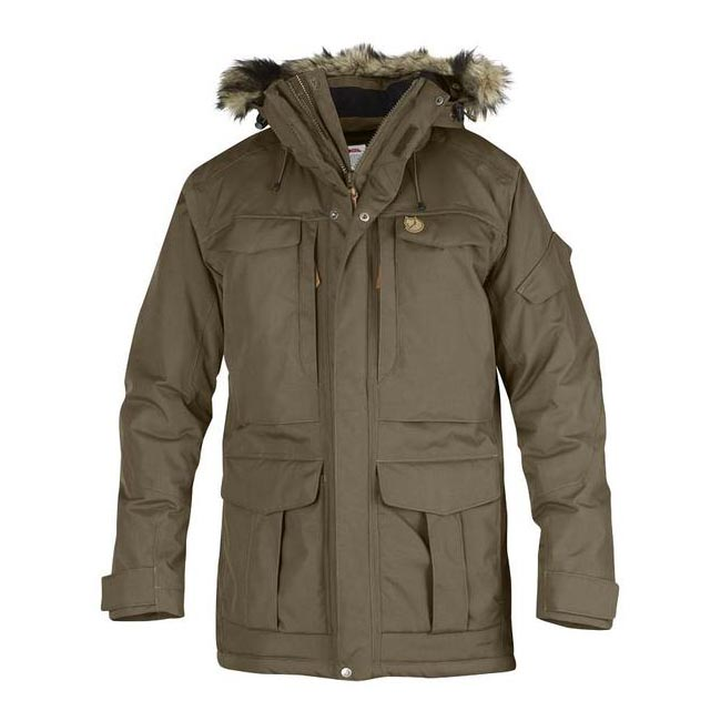 Men Fjallraven YUPIK PARKA TAUPE Outlet Online