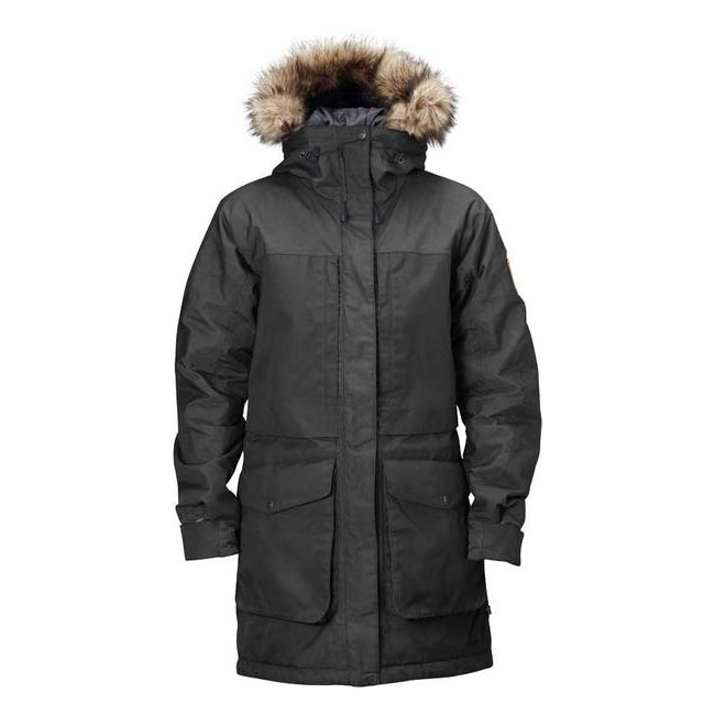 Men Fjallraven BARENTS PARKA DARK GREY Outlet Online