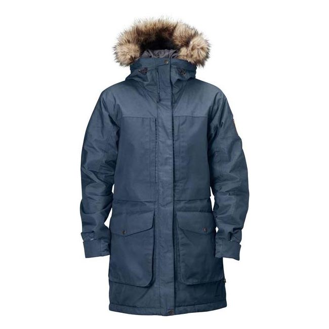 Men Fjallraven BARENTS PARKA UNCLE BLUE Outlet Online