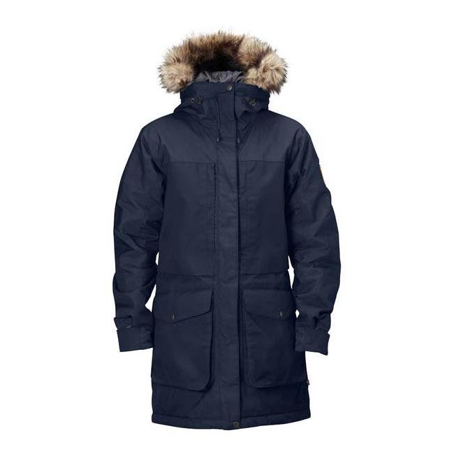 Men Fjallraven BARENTS PARKA DARK NAVY Outlet Online