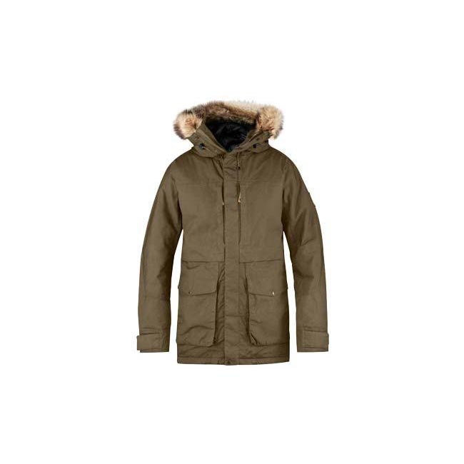 Men Fjallraven BARENTS PARKA TAUPE Outlet Online