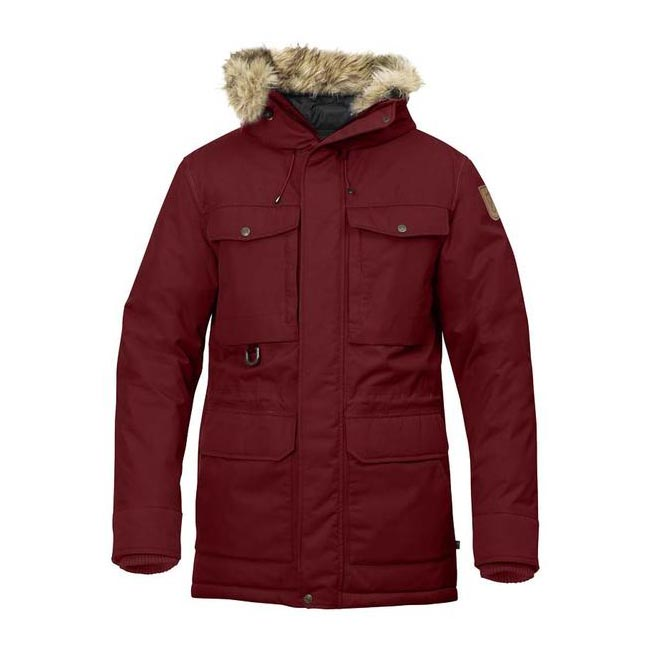 Men Fjallraven POLAR GUIDE PARKA DEEP RED Outlet Online