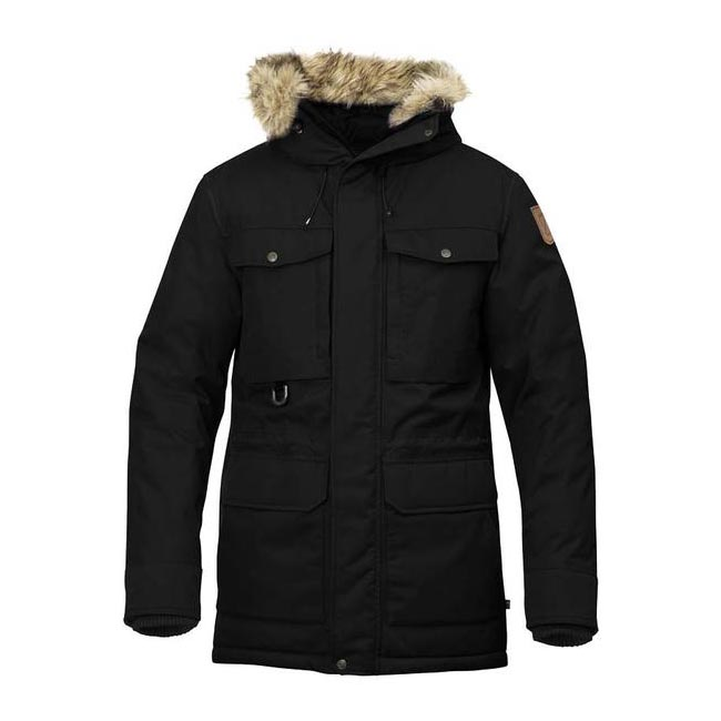 Men Fjallraven POLAR GUIDE PARKA BLACK Outlet Online