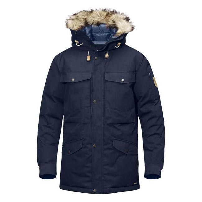 Men Fjallraven SINGI DOWN JACKET DARK NAVY Outlet Online