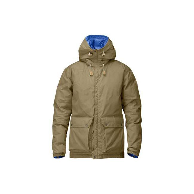 Men Fjallraven DOWN JACKET NO. 16 SAND Outlet Online