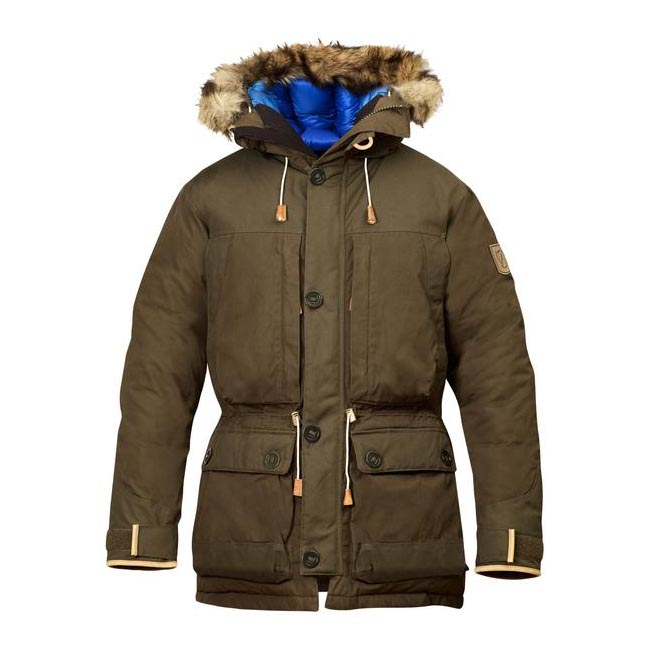 Men Fjallraven EXPEDITION DOWN PARKA NO. 1 DARK OLIVE Outlet Online